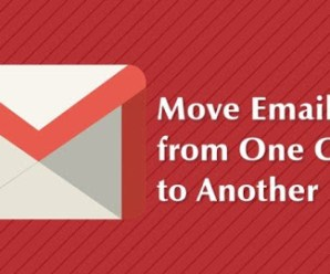 Move Email Messages from one email account to another