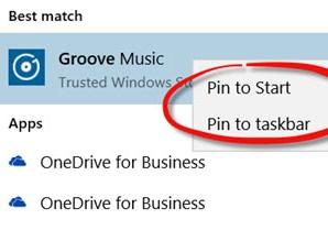 Uninstall Groove Music Windows 10 PC