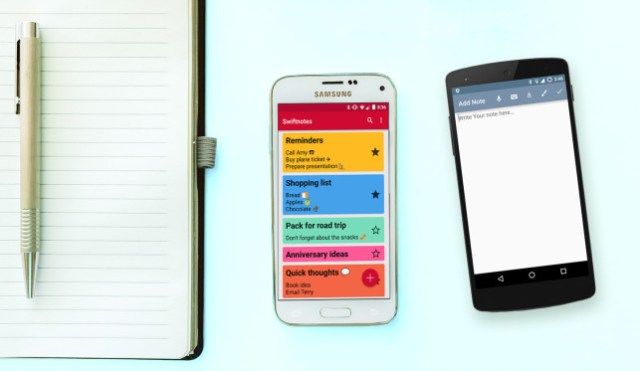 Android note Taking apps