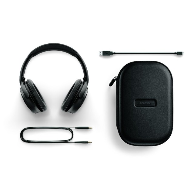 Bose QC35 headphones black