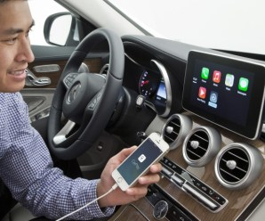 Apple CarPlay: Connects your iPhone Apps to your Car