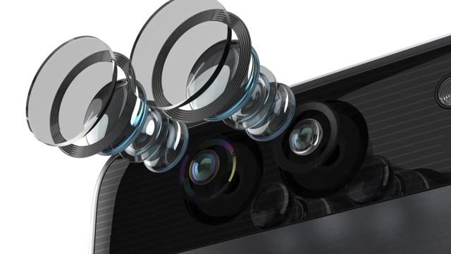 Dual Camera Lenses