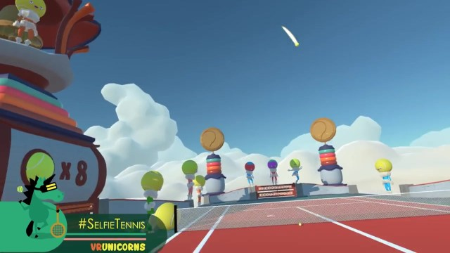 HTC Vive VR Game Tennis