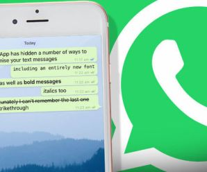 WhatsApp Latest Hidden Font Available to Use