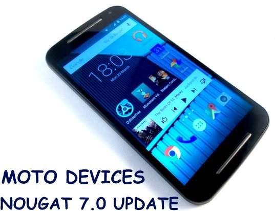Motorola Android Nougat