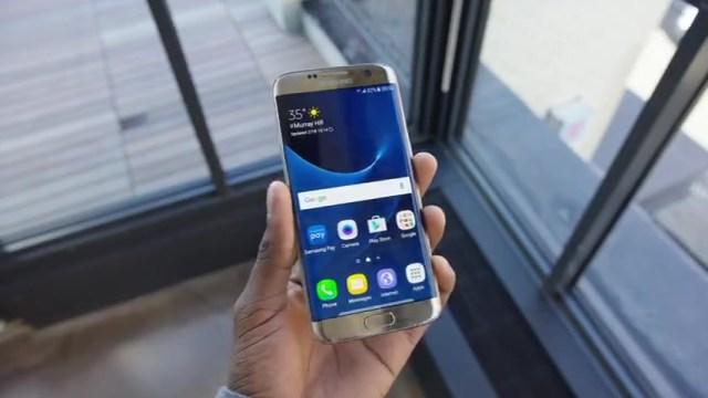 Samsung Galaxy Note7 Gold