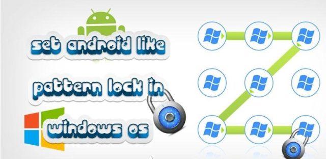 Set Pattern Lock on Windows OS 1