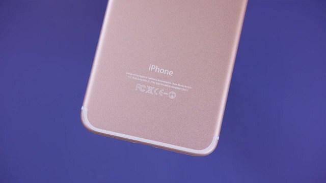 iPhone 7 Plus internal lines