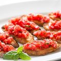 How To Make A Recipe Bruschetta With Tomato and Basil