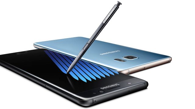 Samsung's Galaxy Note 7 Iris Scanner