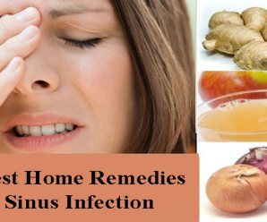 10 Simple Home Remedies To Get Rid Of The Sinus Infection