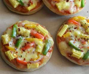 How to make mini pizza at home