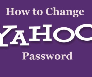 How to change your Yahoo Email Password