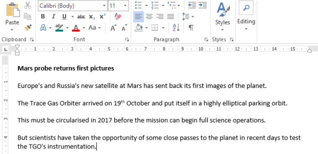 Merging Documents