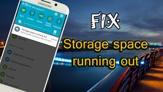 Fix Storage space running out