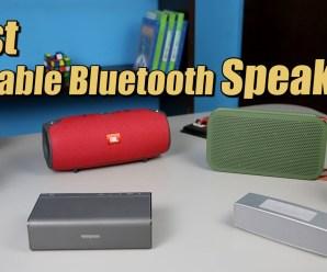 Top 5 Best Bluetooth Speakers of 2016