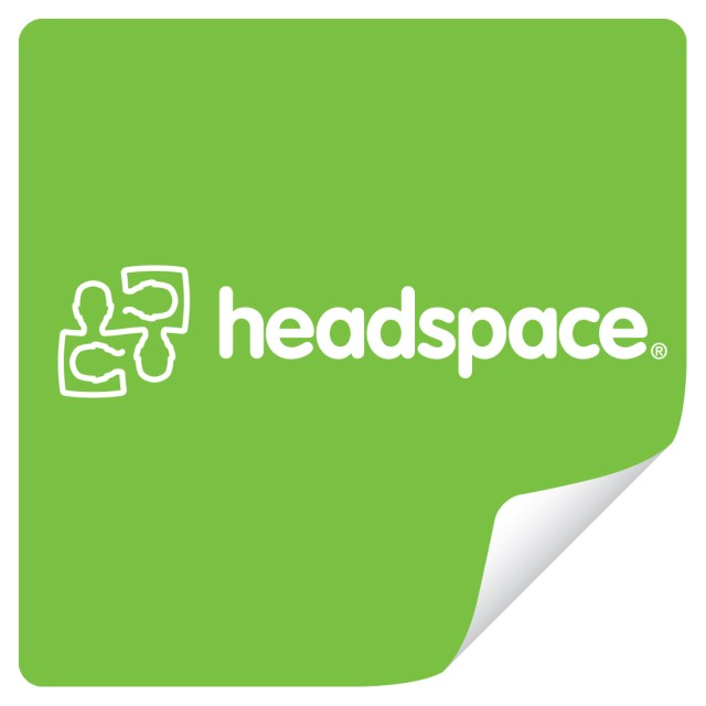 Headspace – Rectangle Sticker Logo
