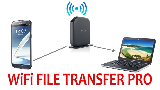 Wi – Fi file transfer pro