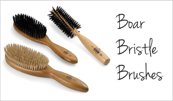 Boar Bristle Brushes for your hair