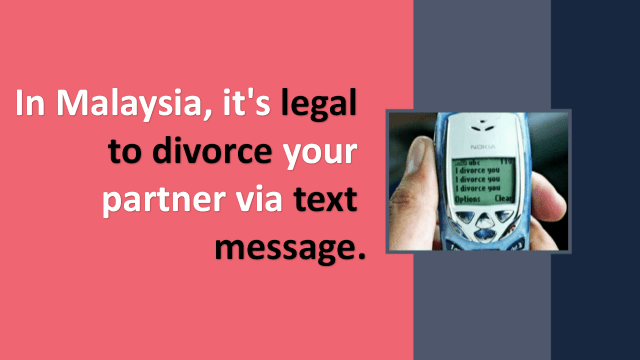 Mobile Divorce in Malaysia