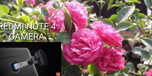 Redmi Note 4 camera