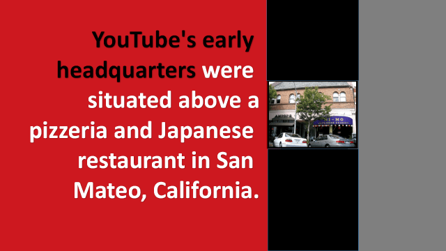 YouTube Early HeadQuarters