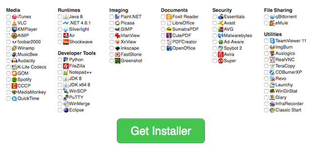 Ninite Software Installer