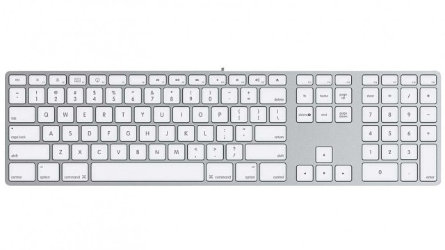 Apple Magic Keyboard with Numeric Keyboard