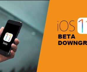 How To Downgrade iOS 11 Beta To iOS 10.3.2 / 10.3.3