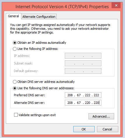 DNS-server-address