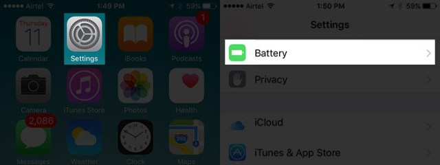 Tap-on-Battery-in-iPhone-Settings