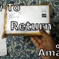 How to return items purchased on amazon