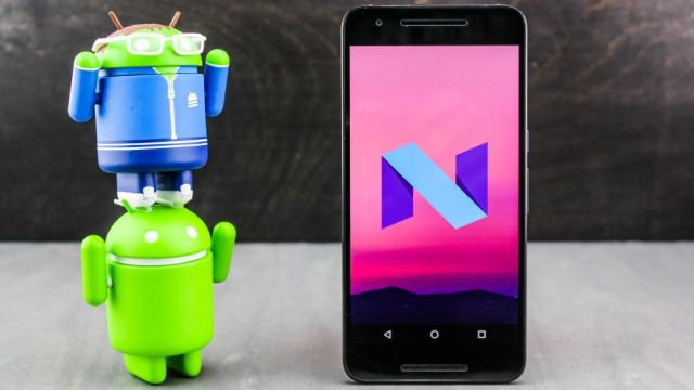Android 7 Nougat update
