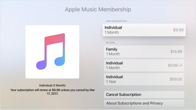 Apple Music Membership