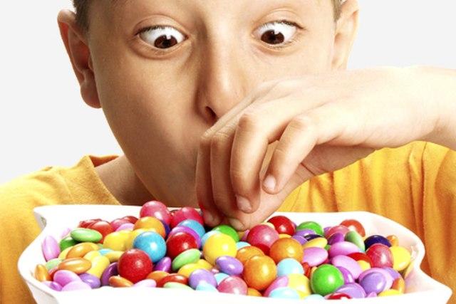 Sugar makes children hyperactive