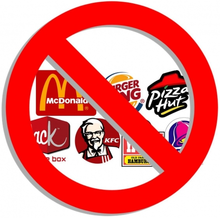 fast food is unhealthy
