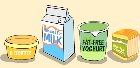 fat free products