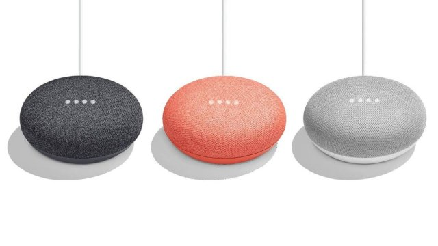 Google Home Mini Colors
