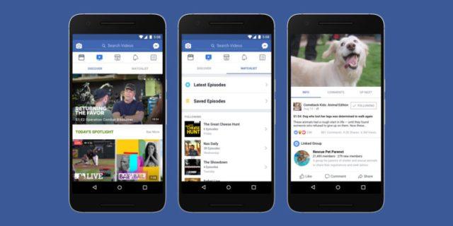 Facebook Watch Service