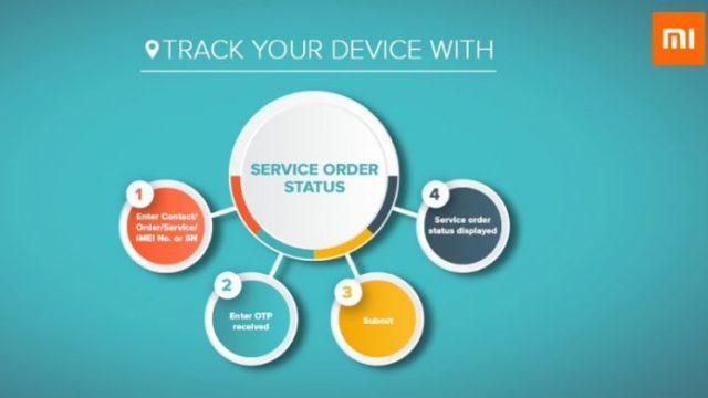 Xiaomi Service Order Status