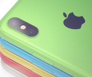 Apple iPhone XC is a colorful and affordable Apple iPhone X concept