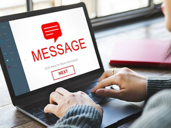How to message from computer with computer