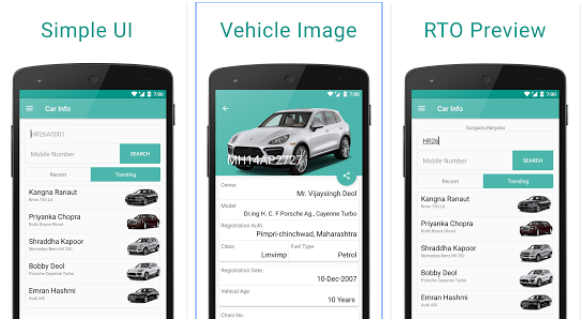 Car Info Android App