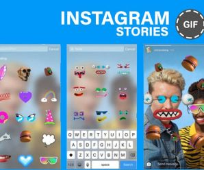 How to use GIF stickers on Instagram Stories?