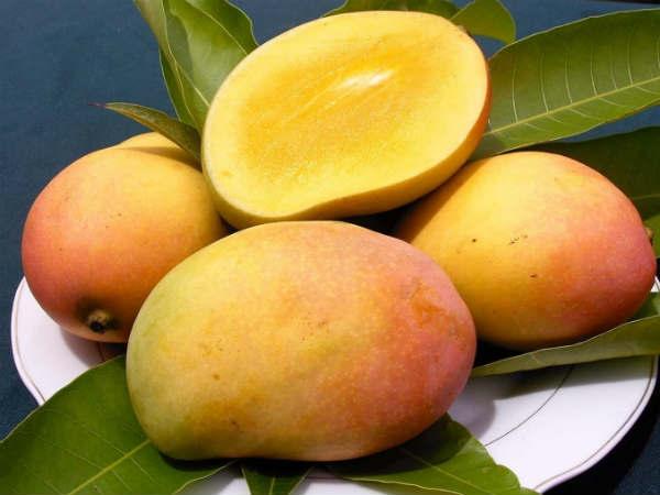 Vitamins in Mango
