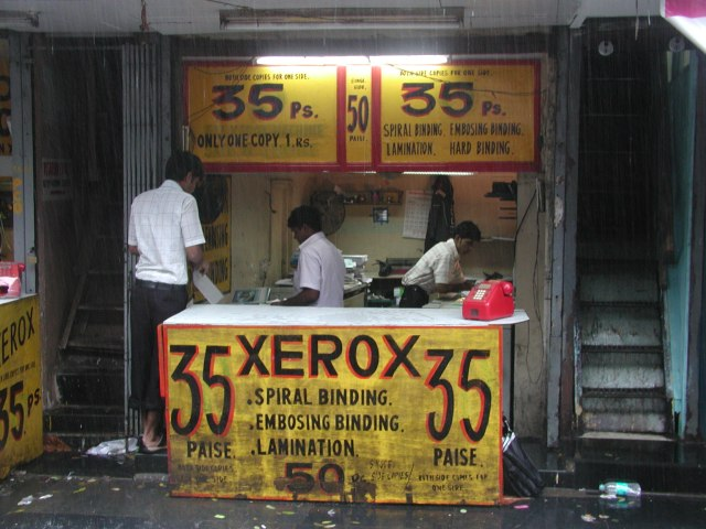 Xerox shop