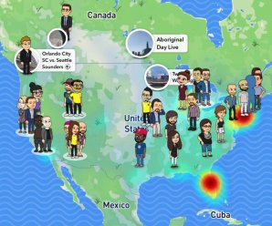 What You Need To Know About Snapchat's New SnapMap Update
