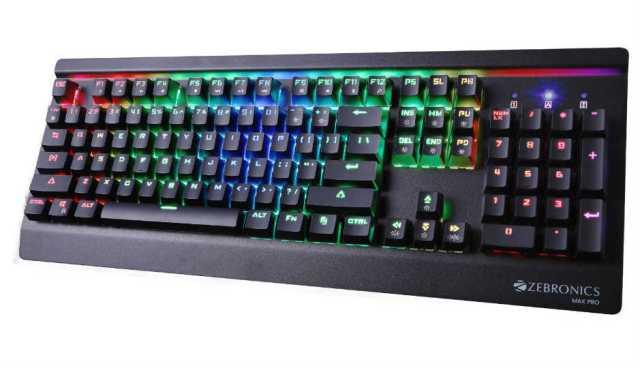 Zebronics Max Pro Keyboard