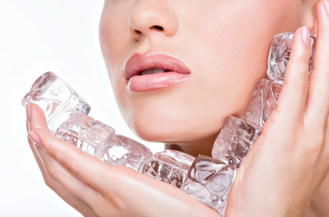 Benefits of Ice Facial