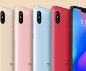 Xiaomi Redmi 6 Pro Launched – Price and Specifications
